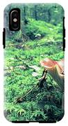 Mushroom In The Green Wood IPhone X Tough Case