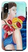 Natasha By The Sea IPhone X Tough Case