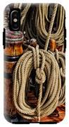Nautical Knots 17 Oil IPhone X Tough Case