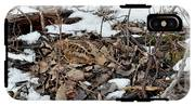 Nesting Woodcock She Survived Her Eggs From The Snow IPhone X Tough Case