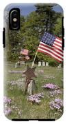 New England Graveyard IPhone X Tough Case