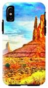 New Mexico Beautiful Desert - Pa IPhone X Tough Case