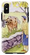 New Yorker June 11 1955 IPhone X Tough Case