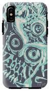 Nocturnal The Blue Owl IPhone X Tough Case