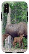 Alaska Nursing Moose IPhone X Tough Case
