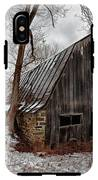 Old Barn Winter IPhone X Tough Case