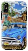 Old Blue IPhone X Tough Case