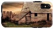 Old English Barn IPhone X Tough Case