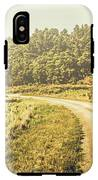 Old-fashioned Country Lane IPhone X Tough Case