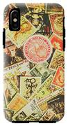 Old New Zealand Stamps IPhone X Tough Case