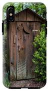 Old Outhouse IPhone X Tough Case