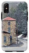 Old Paint Mill Winter Time IPhone X Tough Case