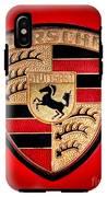 Old Porsche Badge IPhone X Tough Case