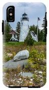 Old Presque Isle Lighthouse IPhone X Tough Case