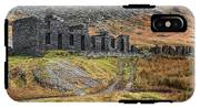 Old Ruin At Cwmorthin IPhone X Tough Case