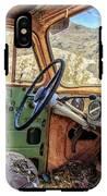 Old Truck Interior Nevada Desert IPhone X Tough Case