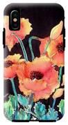 Orange Poppies IPhone X Tough Case
