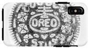 Oreo In Negetive IPhone X Tough Case
