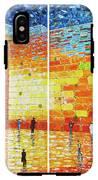 Original Western Wall Jerusalem Wailing Wall Acrylic 2 Panels IPhone X Tough Case