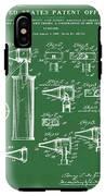 Otoscope Patent 1927 Green IPhone X Tough Case