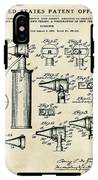 Otoscope Patent 1927 Old Style IPhone X Tough Case