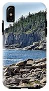 Otter Cliffs In Acadia National Park - Maine IPhone X Tough Case