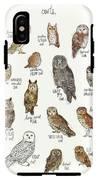 Owls IPhone X Tough Case
