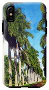 Palms IPhone X Tough Case