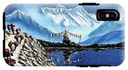 Panoramic View Of Annapurna Mountain Nepal IPhone X Tough Case