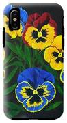 Pansy Lions IPhone X Tough Case