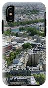 Paris Panorama From The Eiffel Tower IPhone X Tough Case