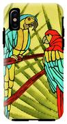 Parrots IPhone X Tough Case