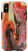 Passionate Waves Abstract Painting IPhone X Tough Case