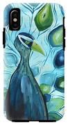 Peacock IPhone X Tough Case