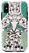 Peacock Love-2 IPhone X Tough Case