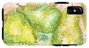 Pear Trio IPhone X Tough Case