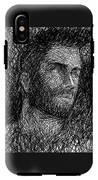 Pencilportrait 04 IPhone X Tough Case
