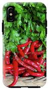 Peppers In A Basket IPhone X Tough Case