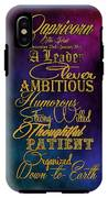 Personality Traits Of A Capricorn IPhone X Tough Case