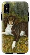 Pet Portrait - Springer Spaniel, Milly IPhone X Tough Case