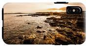 Petal Point Ocean Sunrise IPhone X Tough Case