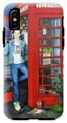 Peter Capaldi Dr Who Putting You Through IPhone X Tough Case