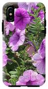 Petunias IPhone X Tough Case