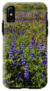 Phacelia Poppies Lupines IPhone X Tough Case