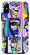 Picasso Blue Women IPhone X Tough Case