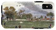 Pigeon Hunting, C1875 IPhone X Tough Case