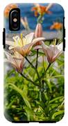 Pink Lily By The Lake IPhone X Tough Case