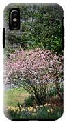 Pink Tree And Daffodils IPhone X Tough Case
