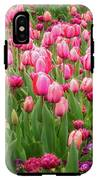 Pink Tulips At Floriade In Canberra, Australia IPhone X Tough Case