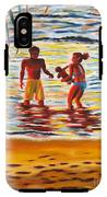 Play Day At Jobos Beach IPhone X Tough Case